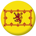Scotland Lion Country Flag 25mm Flat Back